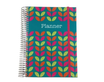 2016 2017 // Personalized Weekly Planner //  Pick From 8 Unique Layouts & Color Combos