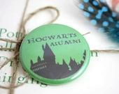 "Hogwarts Alumni - Slytherin 1.5"" Pin"