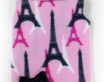 Brand New Ooh La La Pretty Paris Fleece Pullover Size XXXS through Medium by Doogie Couture