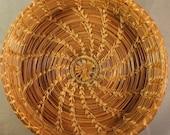 Autumn's Plenty Pine Needle Basket