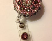 Pretty Pinky Badge Holder