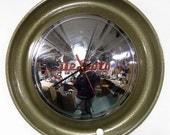1949 - 1950 DeSoto Hubcap Wall Clock - Classic Car Hub Cap Clock - Hammered Gold Trim
