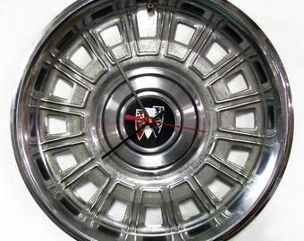 1980 - 1985 Buick Skylark Hubcap Clock - Automotive Wall Clock - 1981 1982 1983 1984