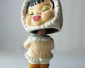 Eskimo Girl Bobble Head