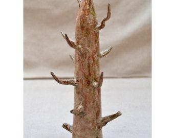 Tree Jewelry Holder. Ceramic Jewelry Display. Nature Inspired Ceramic Sculpture. Jewelry Tree. Ceramic Art. Hand Built Ceramics.