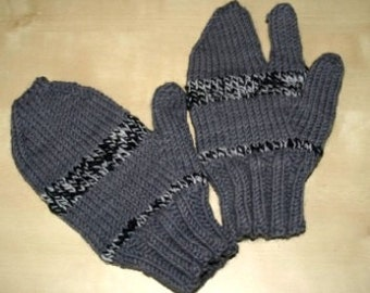 Trigger Happy Mitts pattern