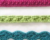 Accent Belts - PDF Crochet Pattern - Instant Download