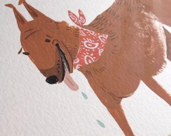 Animal Portrait Illustrations
