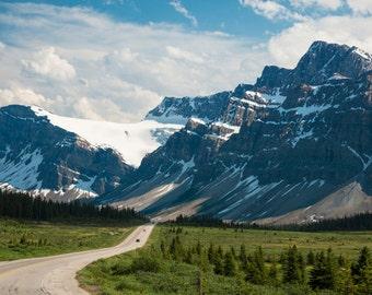 Banff Photography, Jasper Photo Icefields Highway Alberta Rockies Mountains Landscape Canada Wall Art nat110