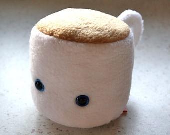 Peluche tasse : café thé cute kawaii polaire