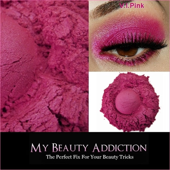Pink Mineral Eye Shadow-V.I.Pink