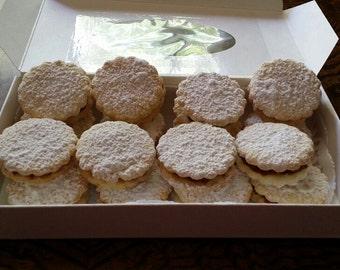 Handmade Peruvian Alfajores (Sugar cookies)