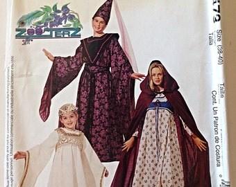 McCalls P473 Medieval Renaissance Costume Adult Misses Size (38-40) Uncut