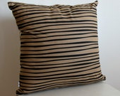 SALE! Stripes n' Spots Cushion in Neutral