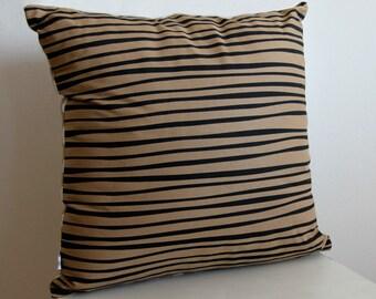 SALE! Stripes n' Spots Cushion in Neutral