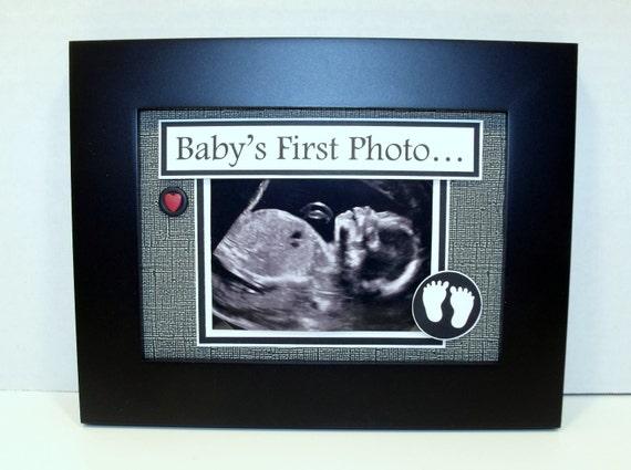 Sonogram Ultrasound Frame Baby S First Photo 5x7 Frame