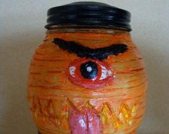Chouchin-obake Keepsake Holder jar(functional-art sculpture)