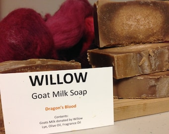 Dragon's Blood Scented Goatmilk Soap