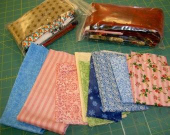 Scrap Bag -- 2 yards of fabric scraps