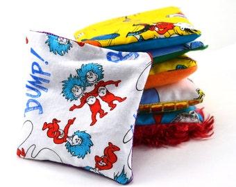 Sensory Bean Bags - Dr. Seuss