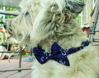 Nittany Lion Bow Tie Collar For Dogs
