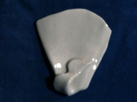Porcelain Pendant Blanks Blank White Porcelain Freeform