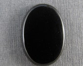 Premium  Black Onyx Cabochon 10 x 14 mm. SALE 33% OFF