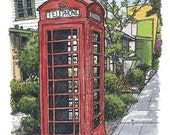 Davis Phonebox (RESERVED for Ruth Bowman)