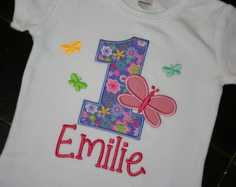 Butterfly Birthday Shirt