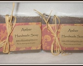 Amber All Natural Handmade Soap---LARGE BAR! Sophisticated