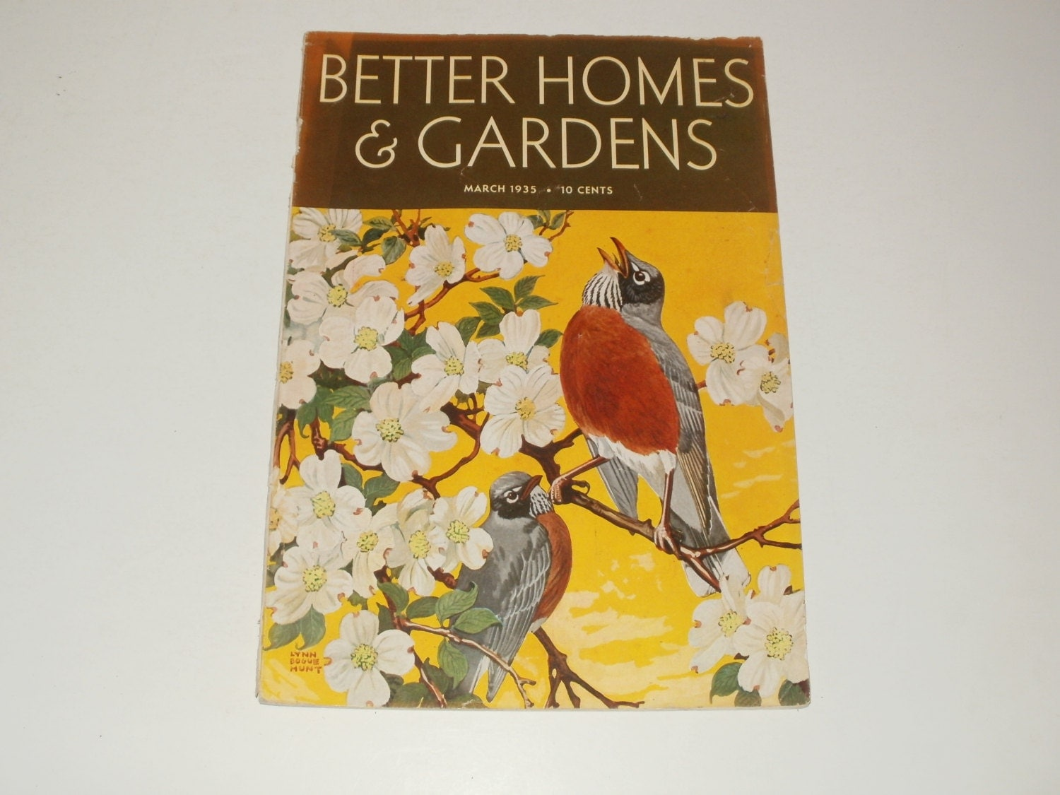 Vintage better homes and gardens magazine march 1935 March better homes and gardens