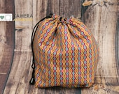DSLR Camera, Travel COZY, Camera Accessory, Drawstring Pouch, Carry in Handbag, Carry in Luggage, Geometric, Vertical Stripe
