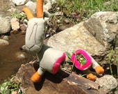 Anger Management Goat Stress Toy, Tactile, Auditory Stimulation Toy
