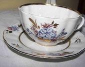 Sale LOMONOSOV Porcelain tea cup saucer Soviet Vintage  20% off  Was 50 now only 40