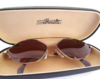 Rare 90s Silhouette Vintage Eyeglass frames Style  6218