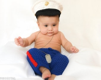 Marine Corps - Marine Costume - usmc - Marine Corps Baby - usmc dress blues - usmc uniform - marine corps clothing  Hobbyist License 21512