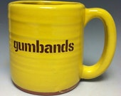 Gumbands Pittsburgh Pottery Mug