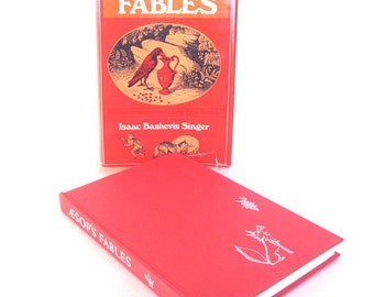 Aesop's Fables 1968 Doubleday Edition HB DJ