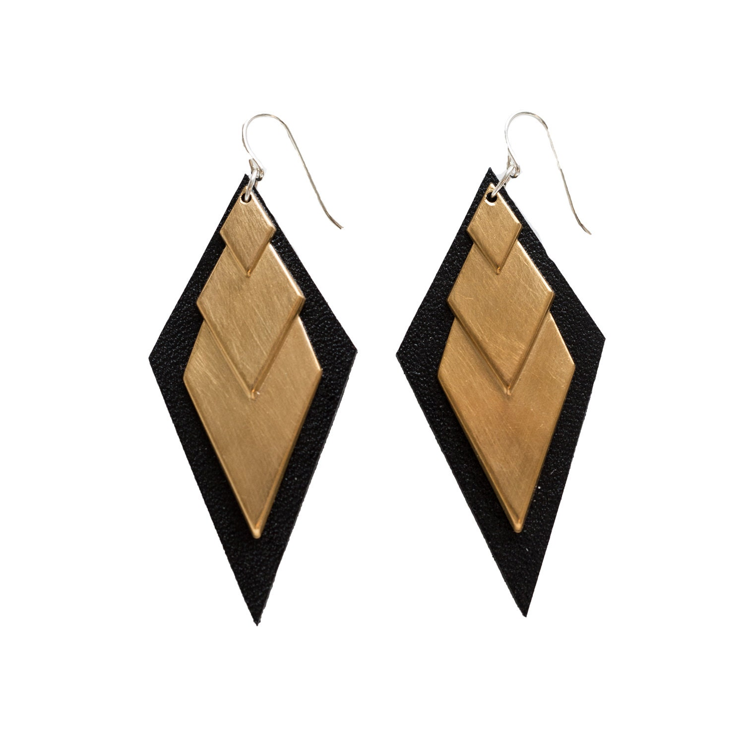 Diamond deco earrings by odi boutique jewellery by Boutiques deco