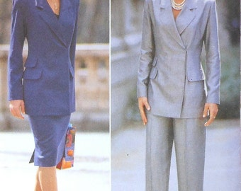 Business Jacket, Skirt, and Pants Sewing Pattern UNCUT Butterick 5750 Sizes 14-18