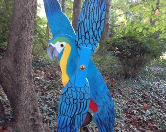 Macaw Whirligig