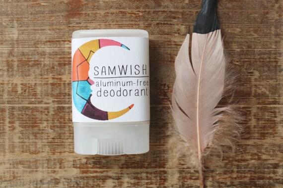 Aluminum-Free Deodorant // Organic // Small
