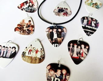 Guitar Pick Necklace One Direction