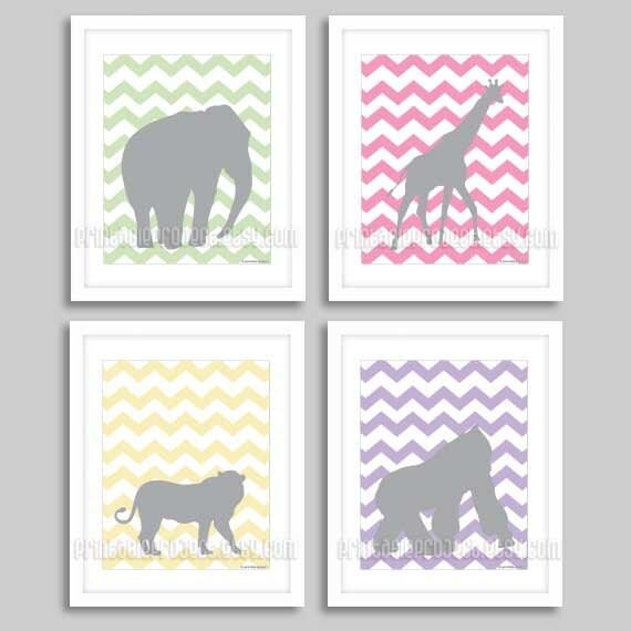Etsy Girl Nursery Wall Decor : Items similar to baby girl nursery decor download kids