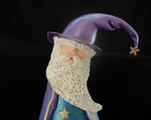 "Gourd Art ""Wizard the Magnificent"" - OOAK"