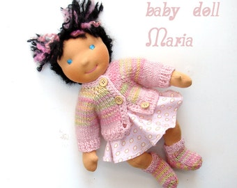 Maria - Waldorf doll baby 14 in doll