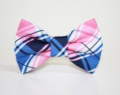 Plaid Dog Bow Tie- more options