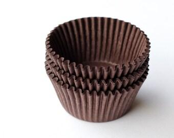 Brown Cupcake Liners - Baking Cups - Bulk (100)