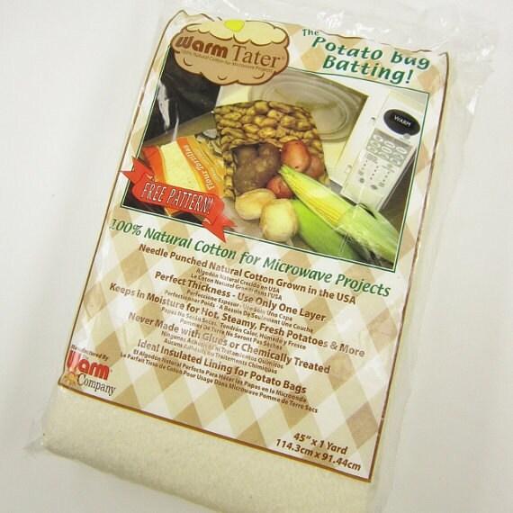 Warm Tater Potato Bag Instructions