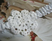 Cute White Wedding Garter